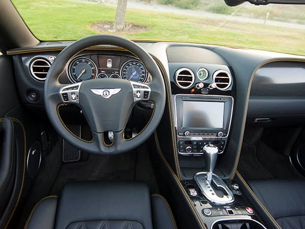 2014 Bentley Continental GT V8 S Quick Take: Subtle Luxury 11