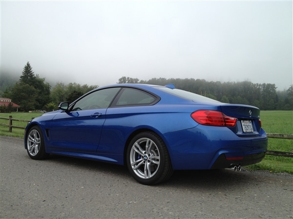 BMW 428I Convertible >> 2014 BMW 4 Series First Review: New Coupe Continues Less ...