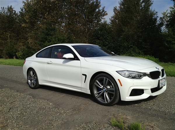 2014 bmw 4 series first review new coupe continues less is more mantra kelley blue book. Black Bedroom Furniture Sets. Home Design Ideas