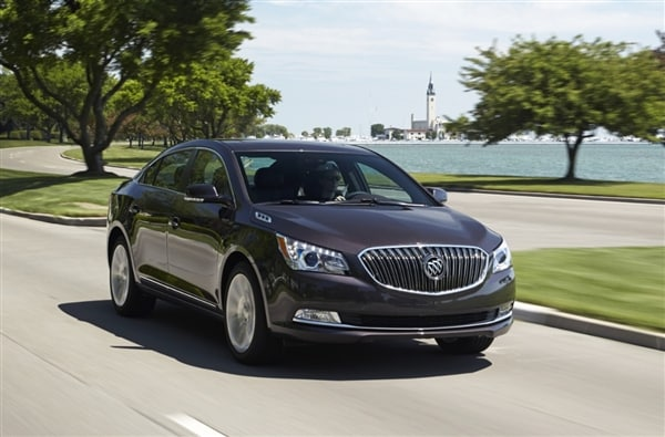 2014 Buick LaCrosse First Review: Positively Premium 3