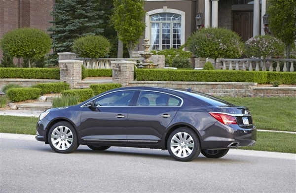 2014 Buick LaCrosse First Review: Positively Premium 1