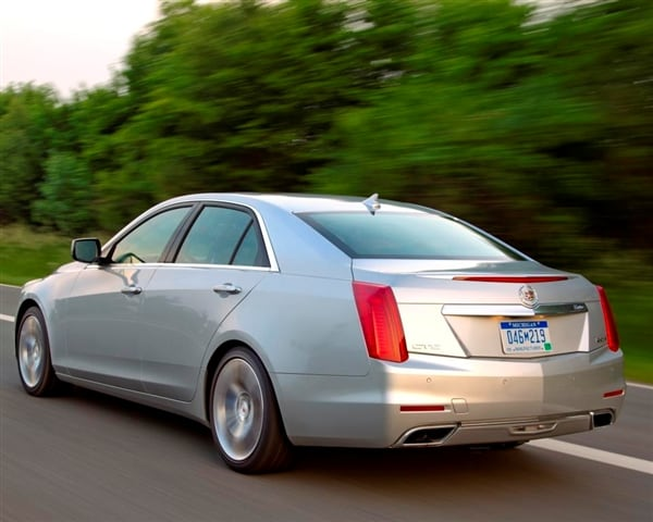 2014 Cadillac CTS First Review: Legitimate Luxury 4