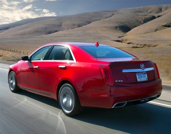 2014 Cadillac CTS First Review: Legitimate Luxury 1