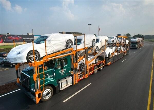 2014 corvette stingray coupes start heading to dealers c7 corvette ...