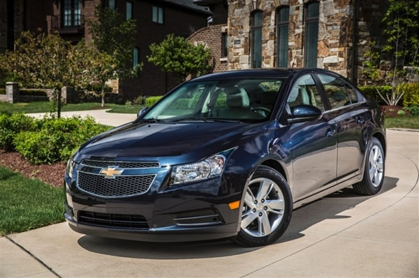 2014 Chevrolet Cruze Diesel First Review A Chevy With A