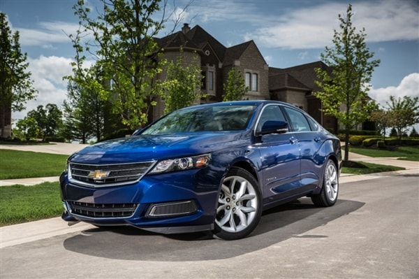 2014 Chevrolet Impala 2 5 First Review: Large Meets Small