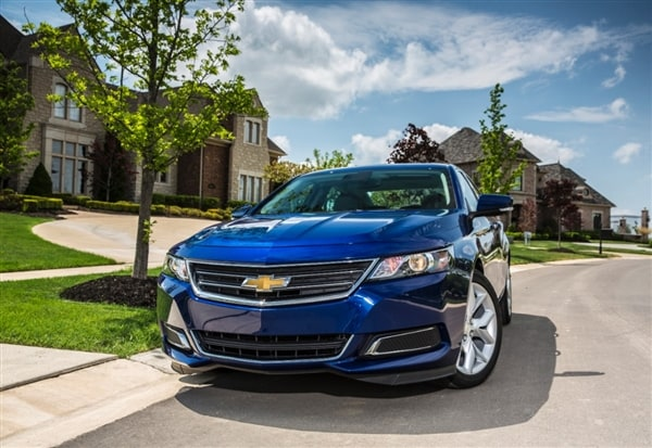 2014 Chevrolet Impala 2.5 First Review: Large Meets Small ...