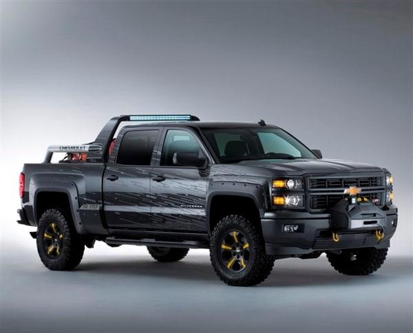 2014 Chevrolet Silverado Concepts show their saving graces