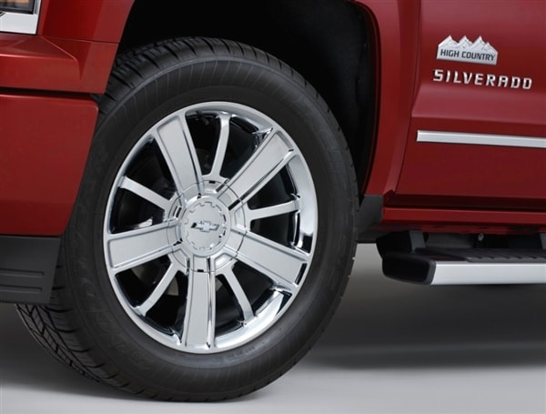 Range-topping 2014 Chevrolet Silverado High Country revealed 5