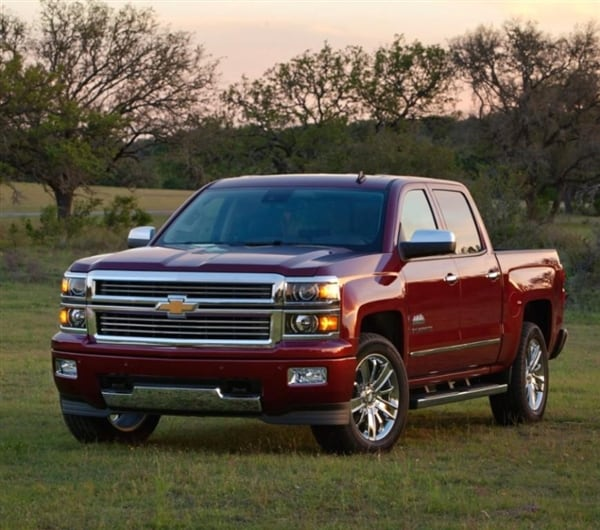 Range-topping 2014 Chevrolet Silverado High Country revealed 10