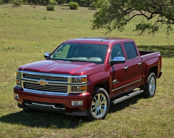 Range-topping 2014 Chevrolet Silverado High Country revealed 11