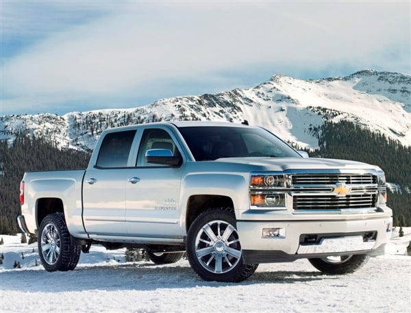 Range-topping 2014 Chevrolet Silverado High Country revealed 8