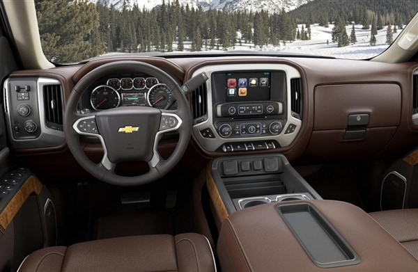 Range-topping 2014 Chevrolet Silverado High Country revealed 4