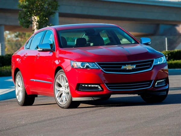 How Much Will My Car Payment Be >> 12 Best Family Cars: 2014 Chevrolet Impala - Kelley Blue Book