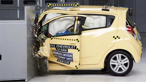 2014 Chevy Spark Sole Minicar To Earn An Iihs Top Safety