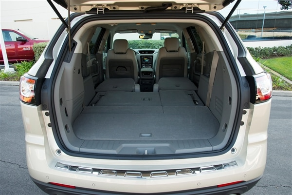 does chevy traverse have 3rd row seating. Black Bedroom Furniture Sets. Home Design Ideas
