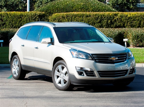 12 Best Family Cars 2014 Chevrolet Traverse Kelley Blue Book