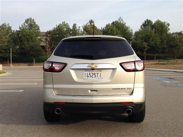 Editors' Page: 2015 Chevrolet Traverse 4