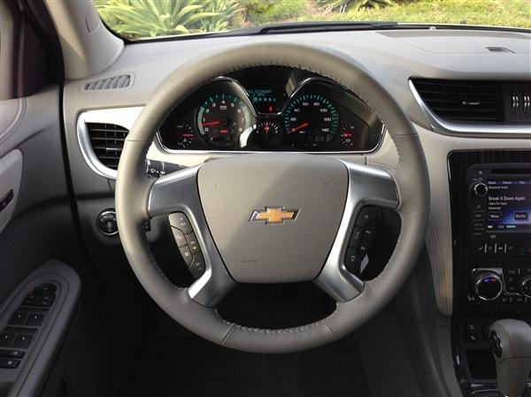 Editors' Page: 2015 Chevrolet Traverse 6