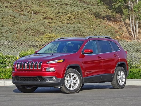 2017 Compact Suv Comparison Jeep Cherokee