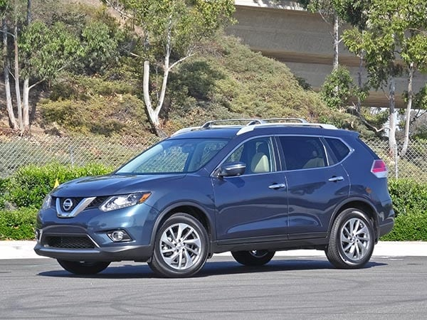 2014 Compact Suv Comparison Nissan Rogue Kelley Blue Book