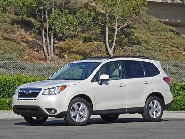 2014 Compact SUV Comparison: Subaru Forester