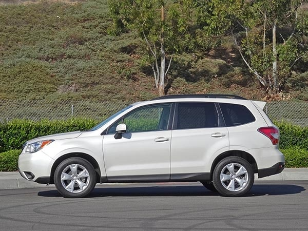 2014 Compact SUV Comparison: Subaru Forester 2