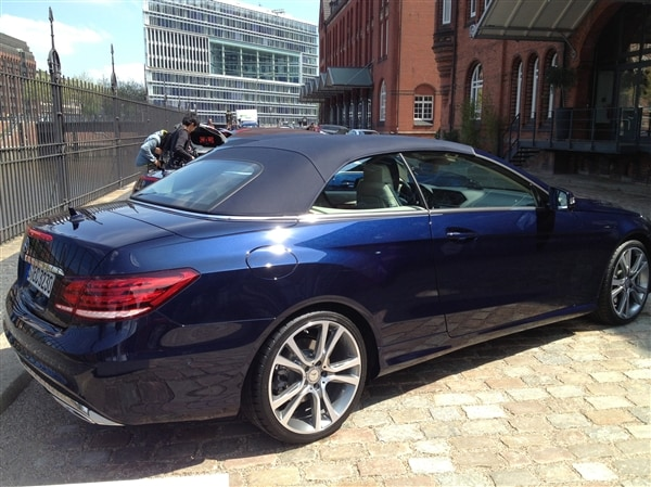 2014 Mercedes Benz E Class Coupe And Cabriolet First