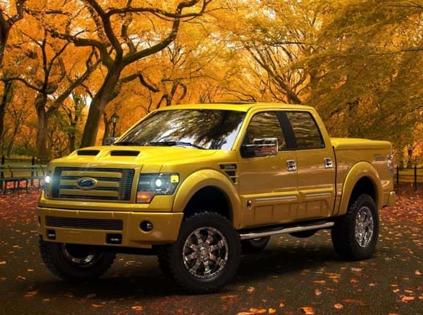 Ford Tonka Truck >> 2014 Ford F-150 Tonka Edition hits the road - Kelley Blue Book
