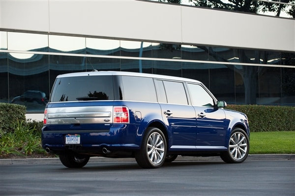 12 Best Family Cars 2014 Ford Flex Kelley Blue Book