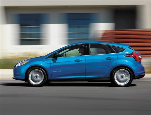 No Credit Car Loans >> 2014 Ford Focus Electric gets $4,000 price cut - Kelley ...