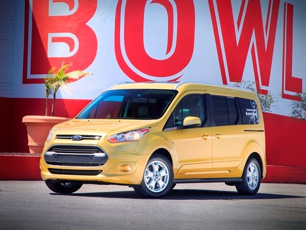 there is something to be said for turning the minivan formula on its ear which is precisely what ford has done with the 2014 transit connect wagon ford is