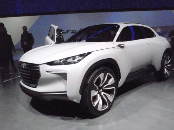 Mercedes Benz A Class >> Hyundai Intrado Concept