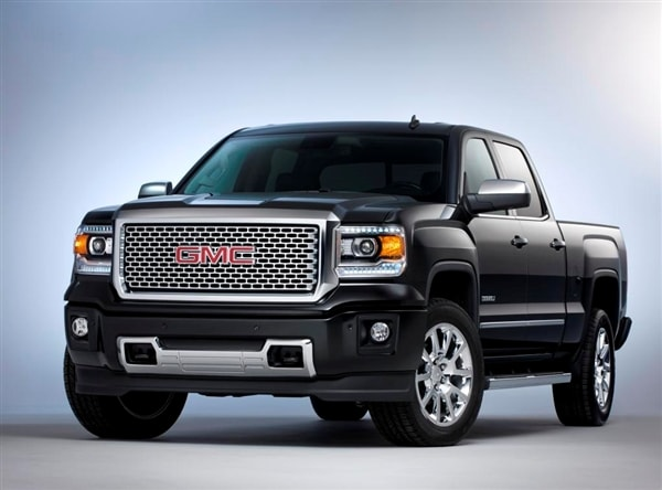 gmc unveils 2014 sierra denali kelley blue book. Black Bedroom Furniture Sets. Home Design Ideas