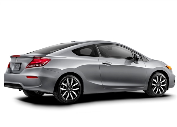 2014 honda civic coupe and coupe si unveiled kelley blue book. Black Bedroom Furniture Sets. Home Design Ideas