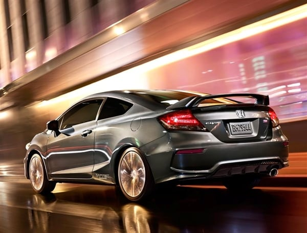 2014 Honda Civic Coupe and Coupe Si unveiled - Kelley Blue Book