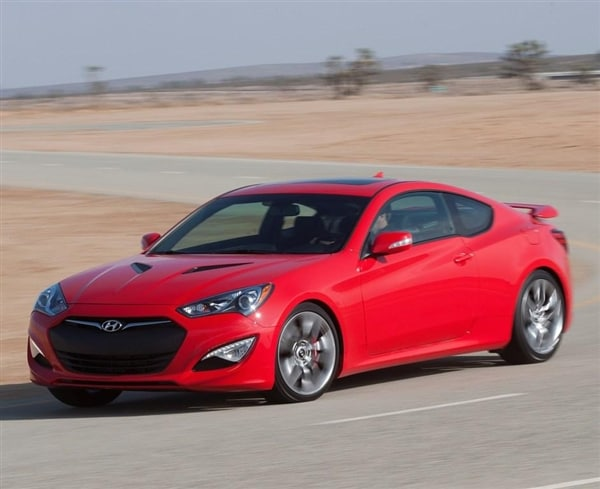 2014 Hyundai Genesis Coupe Boasts Enhanced Feature Set