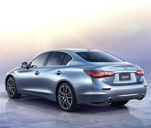 2014 Infiniti Q50 Lineup Arrives In Showrooms Early Next