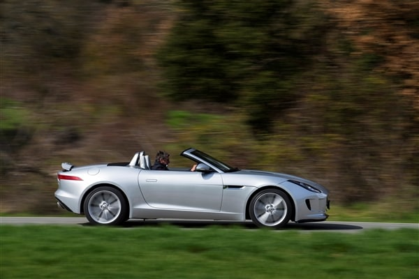2014 Jaguar F-Type First Review: Driving the Future, Feeling the Past 1