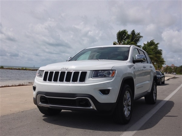 Exploring Key West in a 2014 Jeep Grand Cherokee