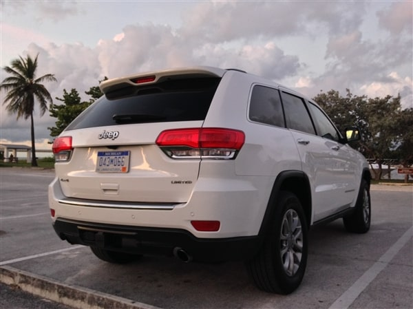 Exploring Key West in a 2014 Jeep Grand Cherokee 4
