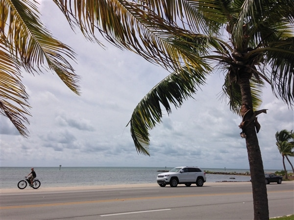 Exploring Key West in a 2014 Jeep Grand Cherokee 31