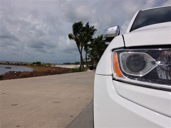 Exploring Key West in a 2014 Jeep Grand Cherokee 6