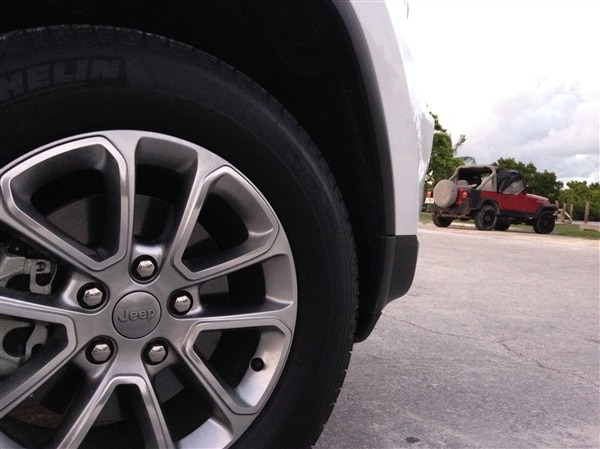 Exploring Key West in a 2014 Jeep Grand Cherokee 12