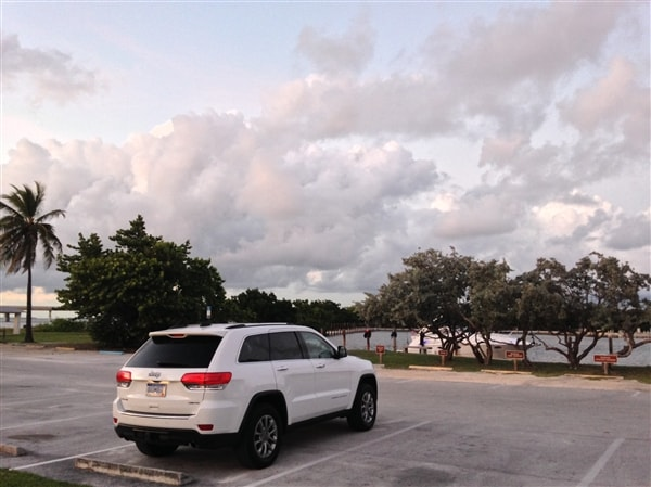 Exploring Key West in a 2014 Jeep Grand Cherokee 3