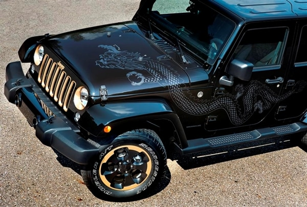 2014 Jeep Wrangler Dragon Edition From Show Stand To