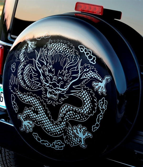 2014 Jeep Wrangler Dragon Edition: From show stand to ...