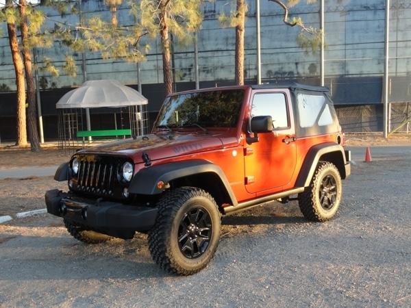 2014 Jeep Wrangler Willys Wheeler Quick Take Kelley Blue