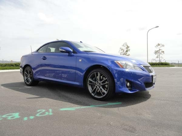 2014 Lexus Is 350c F Sport Quick Take Kelley Blue Book
