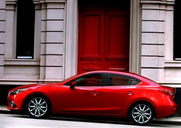 First Pics 2014 Mazda3 Sedan Kelley Blue Book